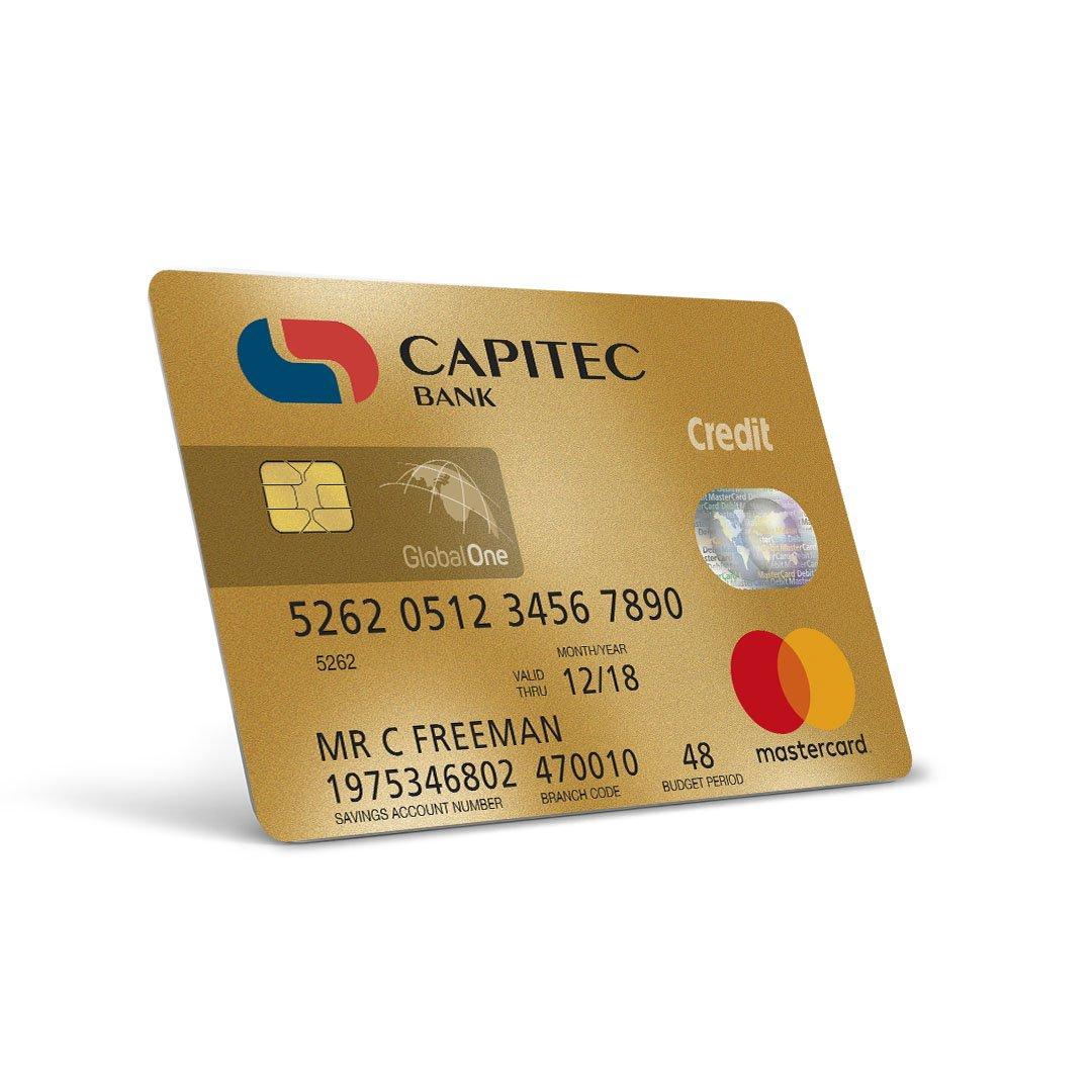 Capitec Credit Card Gold