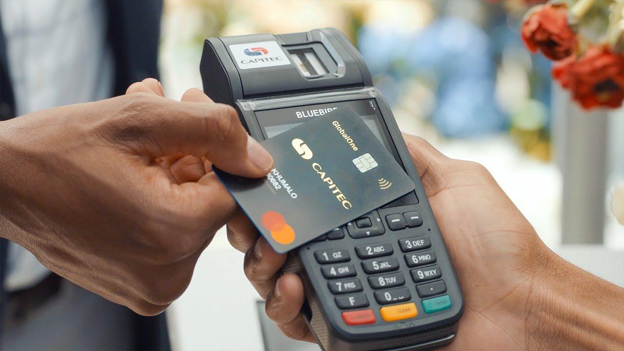 Capitec Credit Card swiping