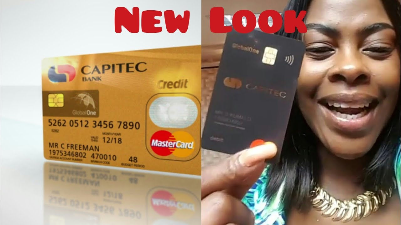 Capitec Credit Card to Black Card